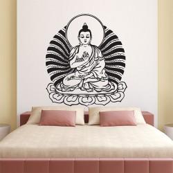 สติกเกอร์ติดผนัง Buddha God Wall Sticker (WD-0456)