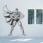 สติกเกอร์ติดผนัง Superman Wall Sticker