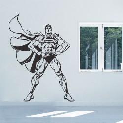 สติกเกอร์ติดผนัง Superman Wall Sticker (WD-0457)