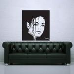 สติกเกอร์ติดผนัง Michael Jackson King of Pop Wall Sticker