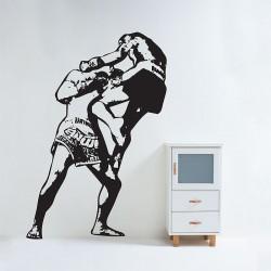 สติกเกอร์ติดผนัง Muay thai Boxing Wall Sticker (WD-0470)