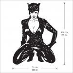 สติกเกอร์ติดผนัง Catwoman Wall Sticker