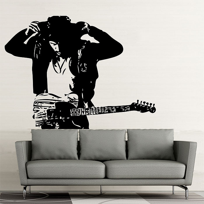Tattoo Wall Art springsteen vinyl wall art decal