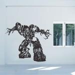 สติกเกอร์ติดผนัง Transformers Megatron Robot Wall Sticker