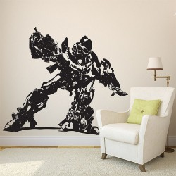 Transformers Bumble Bee Vinyl Wall Art Decal (WD-0487)