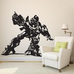 สติกเกอร์ติดผนัง Transformers Bumble Bee Wall Delcal (WD-0487)