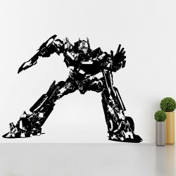 Optimus Prime Autobot Vinyl Wall Art Decal (WD-0488)