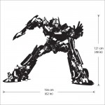 Optimus Prime Autobot Vinyl Wall Art Decal