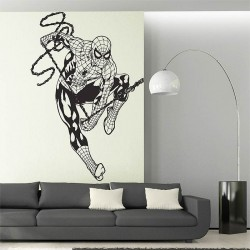 สติกเกอร์ติดผนัง สไปเดอร์-แมน Spiderman  Wall Sticker (WD-0489)