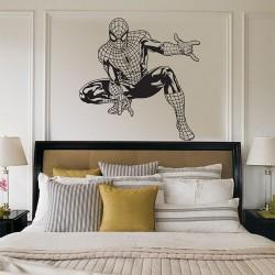 สติกเกอร์ติดผนัง Spiderman Wall Sticker (WD-0490)