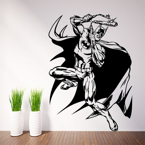 Batman Comic Vinyl Wall Art Decal