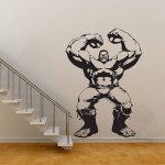The Hulk in The Avengers Movie Vinyl Wall Art Decal