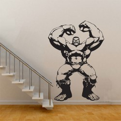 The Hulk in The Avengers Movie Vinyl Wall Art Decal (WD-0506)