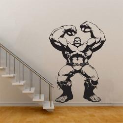 สติกเกอร์ติดผนัง The Hulk in The Avengers Movie Wall Sticker (WD-0506)