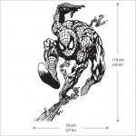 สติกเกอร์ติดผนัง Spiderman Wall Sticker