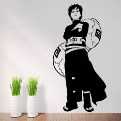 สติกเกอร์ติดผนัง กาอาระ Gaara from Naruto Wall Sticker (WD-0510)