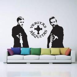 สติกเกอร์ติดผนัง The Boondock Saints Wall Sticker (WD-0523)
