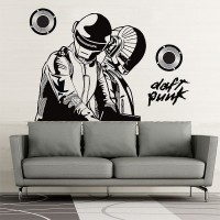 Daft Punk Die-Cut Vinyl Decal Sticker     19 Colors Available