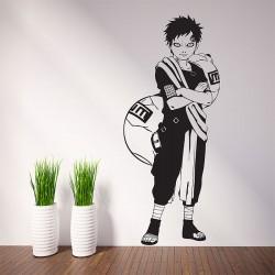 สติกเกอร์ติดผนัง นินจานารูโตะ  Gaara Anime Naruto Wall Sticker (WD-0547)