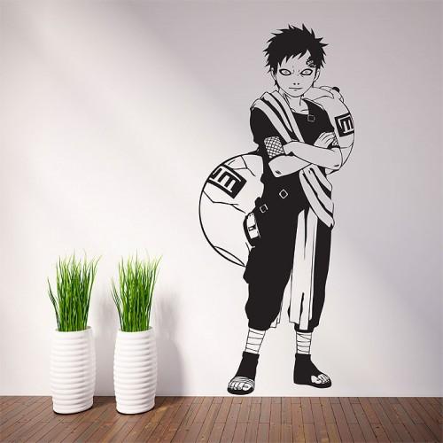 สติกเกอร์ติดผนัง นินจานารูโตะ Gaara Anime Naruto Wall Sticker