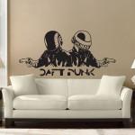 DJ Daft Punk Vinyl Wall Art Decal