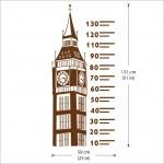 สติกเกอร์ติดผนัง Big Ben Ruler Height Chart Wall Sticker