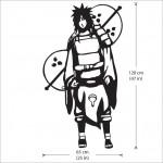 สติกเกอร์ติดผนัง Madara Uchiha Naruto Wall Sticker