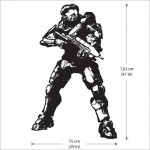 Halo 3 Competition Vinyl Wall Art Decal