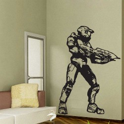 Halo 3 Master Chief  Vinyl Wall Art Decal (WD-0563)