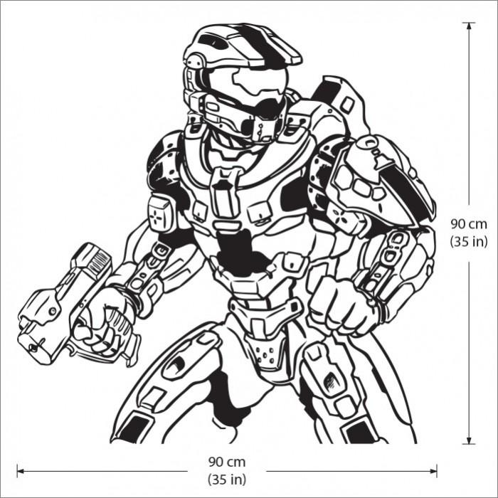 Ziemlich Halo 4 Master Chief Malvorlagen Ideen ...