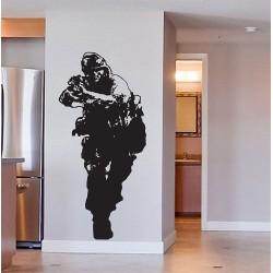 Call of Duty 4 Modern Warfare Vinyl Wall Art Decal (WD-0566)