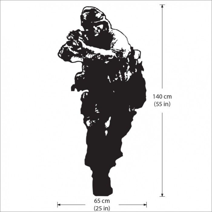 Call Of Duty 4 Modern Warfare Vinyl Wall Art Decal