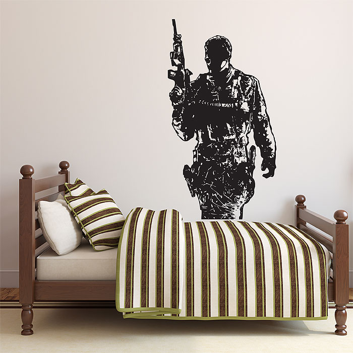 Call Of Duty Modern Warfare 3 Vinyl Wall Art Decal