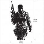 สติกเกอร์ติดผนัง Call of Duty Modern Warfare 3 Wall Sticker