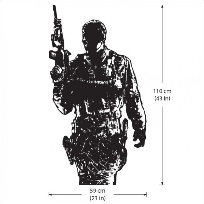 Call Of Duty Modern Warfare 3 Vinyl Wall Art Decal
