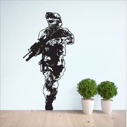 Call of Duty 2 Modern Warfare Vinyl Wall Art Decal (WD-0568)