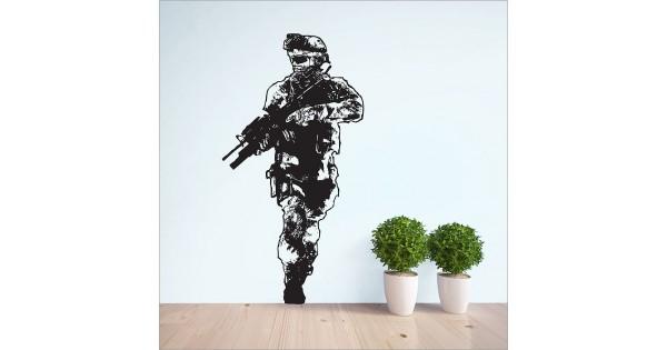 Call Of Duty 2 Modern Warfare Vinyl Wall Art Decal