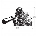 Call of Duty Sniper Vinyl Wall Art Decal