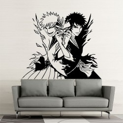 Bleach Manga Ichigo Vinyl Wall Art Decal (WD-0577)