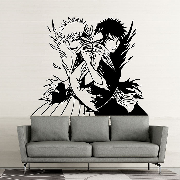 Tattoo Wall Art manga ichigo vinyl wall art decal
