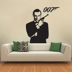 สติกเกอร์ติดผนัง James Bond 007 Version 2 Wall Sticker (WD-0585)