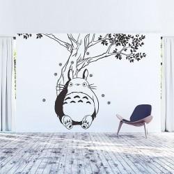 สติกเกอร์ติดผนัง Totoro under the Tree Wall Sticker (WD-0594)