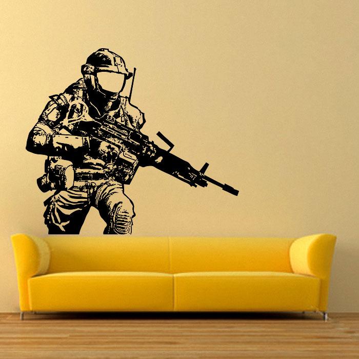 Call of Duty Sniper Vinyl Wall Art Decal