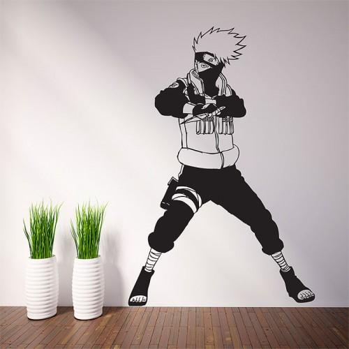 Hatake Kakashi Fighter Naruto Vinyl Wall Art Decal