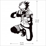 สติกเกอร์ติดผนัง  นินจานารูโตะ Hatake Kakashi Naruto Wall Sticker