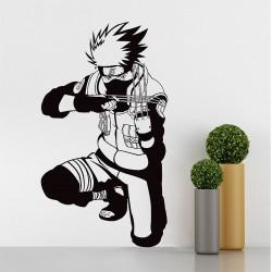 สติกเกอร์ติดผนัง  นินจานารูโตะ Hatake Kakashi Naruto Wall Sticker (WD-0607)