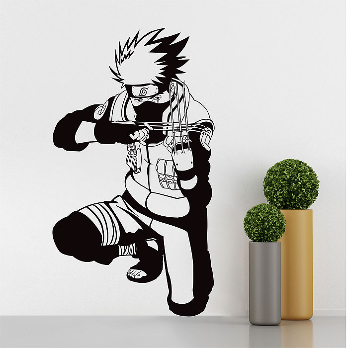 Tattoo Wall Art kakashi naruto vinyl wall art decal