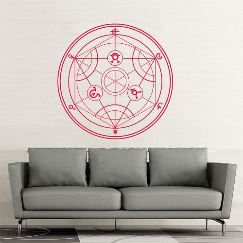 สติกเกอร์ติดผนัง fullmetal alchemist logo Wall Sticker