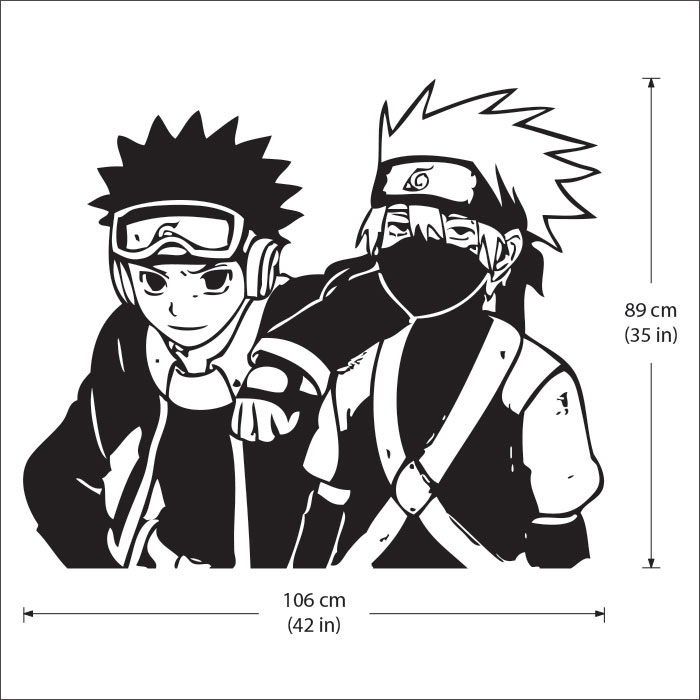 Tattoo Wall Art and obito naruto vinyl wall art decal