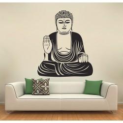 สติกเกอร์ติดผนัง พระพุทธรูปไดบุทสึ The Great Buddha of Kamakura Daibutsu Wall Sticker (WD-0623)